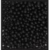 Wooden Bead Round 6mm Black